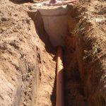 отвод воды от дома