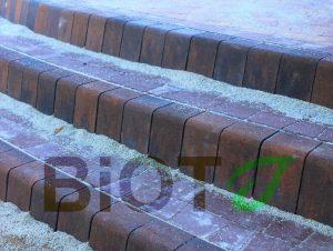 Ступени из бетонных элементов